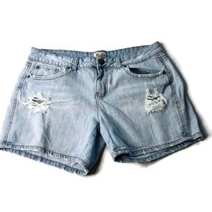 MUDD distressed jean shorts Size 15